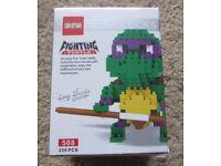 BNIB Mini Blocks – like Lego / Nanoblocks. TMNT Style Turtle – Christmas Gift