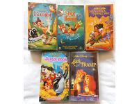 Walt Disney Video Bundle - 5 classic children's videos