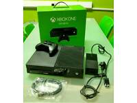 Xbox One, With Controller, All Cables & Boxed, As New, 4 Games