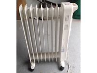 Oil filled radiator - perfect condition