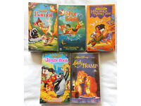 Walt Disney Video Bundle - 5 classic children's videos