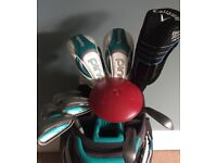Ladies Ping Rhapsody Golf Clubs, Bag plus Extras