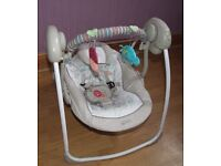 Baby swings like NEW!!! Used only few times!!!