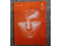 Ed Sheeran + Complete Guitar TAB Songbook Sheet Music