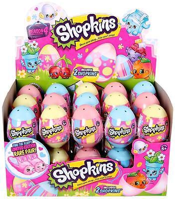 New Shopkins Surprise Easter Eggs 2 pack Season 4