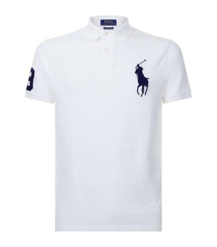 Ralph Lauren heren Big Pony poloshirt - Wit