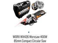 WORX WX427 XL 710W Compact Extreme Versatile Mini Circular Hand Saw @sk30