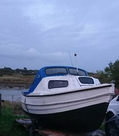 Fishing boat 17ft end of year bargain