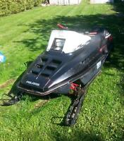 1991 Polaris indy 600 triple (fugi) must go have a kid on the wa