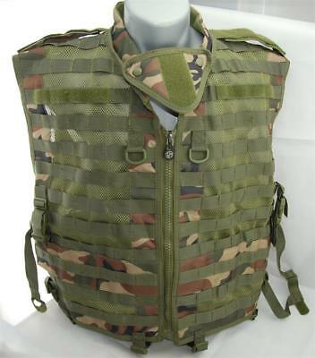 Airsoft,Special Ops Tactical Paintball Vest - Woodland-XL Large - NEW (23) Special Ops Paintball Vests