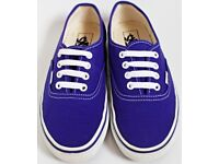 Ladies Purple Size 5 Vans Trainers - Open to Offers
