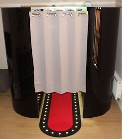 Luxury Photo Booth & Selfie Pod Hire! Free Personalised Cinema Sign! 3hrs- £315