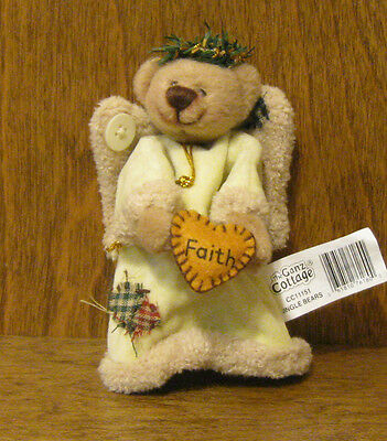 Ganz Cottage Collectibles Cc11151c Jingle Bears, Faith By Lorraine Chien 4