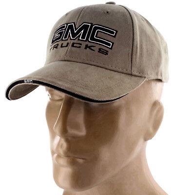 GMC Truck TAN Baseball Cap Trucker Hat Snapback Denali Sierra 1500 2500 Canyon