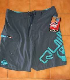 "NEW ""QUICKSILVER"" board shorts"