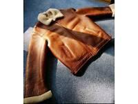 Sheepskin jacket L - XL size BARGING