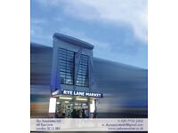 Shops to rent in Rye Lane Market from £175 p/w