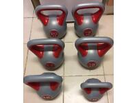 Kettle bell set weights