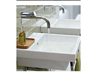 Bathstore Euro Duo 700mm Basin and lever tap