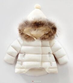 Girls/toddlers padded winter coat/parka 18-24 months