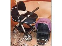 Icandy apple . I candy apple . Icandy travel system . Pram . Buggy. Pushchair. Stroller