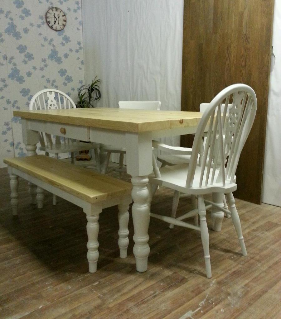 Pine Shabby Chic Style Table Buy Sale And Trade Ads