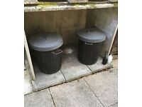 LARGE CONCRETE COAL BUNKER (FREE)