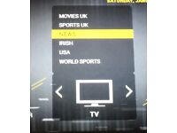Mag 250 iptv all channels WiTh 12 months included