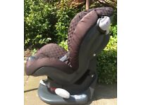 Mamas and Papas reclining car seat.