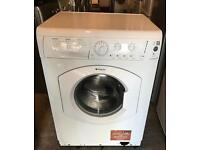 7KG HOTPOINT Aquarius WML720 Free Standing Washing Machine Good Condition & Fully Working Order
