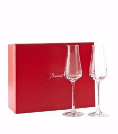 Baccarat champagne flutes