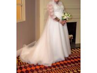 Wedding Dress size 18/22 (Genuine Bargain) £350