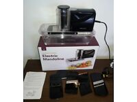 USED ONCE - Andrew James Electric Mandoline Slicer Food Cutter Chopper Grater & Ice Shaver