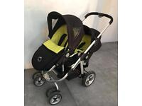 iCandy apple pear double pram pushchair