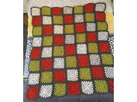 Handmade Large Knitted Blanket