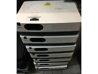 job lot x7sanyo xga projector plc-xw250 LOW HOURS!