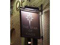 Assistant Manager required for Busy Kings Cross Pub