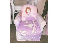Girls Sofia chair.