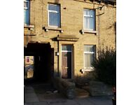 AGAR STREET - 2 BEDROOM HOUSE FOR RENT TO LET BRADFORD BD8 9QL GIRLINGTON AREA