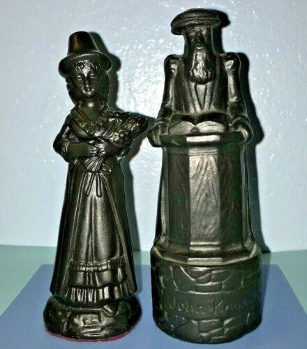 Celtic Castings Slate Wales Welsh Woman & Wade Chess Piece John Knox orig Label