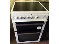 FLAVEL White 60cm freestanding electric cooker