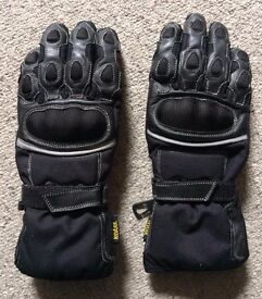 Crivit winter motorcycle gloves - small