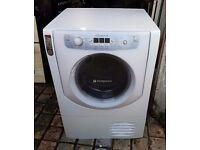 8kg Hotpoint condenser dryer, excellent condition, 3 months warranty