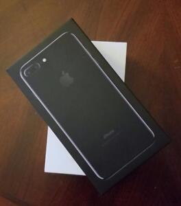 Brand New Apple iPhone 7 Plus 128GB Gold/Jet Black, Rogers ($850) or Unlocked ($875/$900) + 1 Yr Apple Wrnty!!!*****