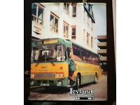 THE LEYLAND BUS - HARDBACK BOOK D JACK 1992 GOOD CONDITION