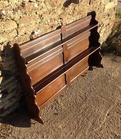 Ercol plate rack.shelves dresser top