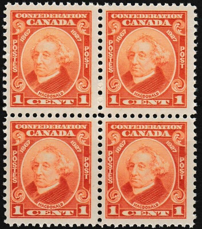CANADA ~ #141 ~ BLOCK of 4 - MNH