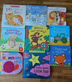 Selection of Baby/Toddler story books