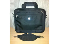 "Dell 15"" Nylon Notebook Case Laptop Bag w/Shoulder Strap"