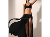 Women Bikini Cover Up Maxi Skirt